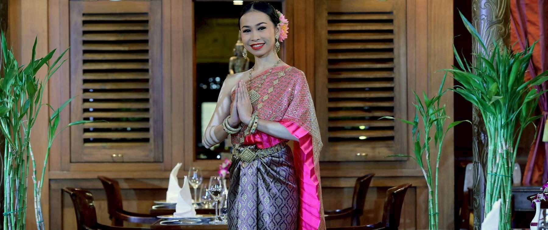 a lady with tea
